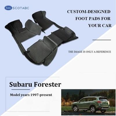 Subaru Forester Car Mats 1997-2019, Scotabc Custom Fit All-Weather Floor Mats Carpets