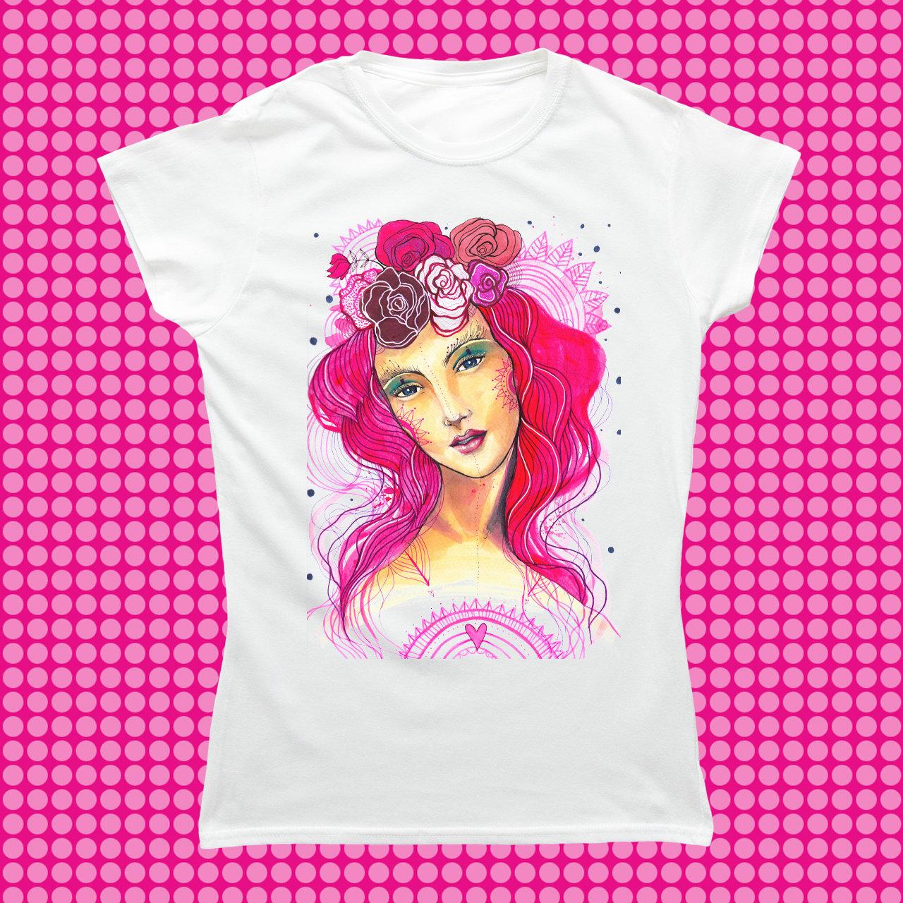 Víla na tričku/ Gildan 00113