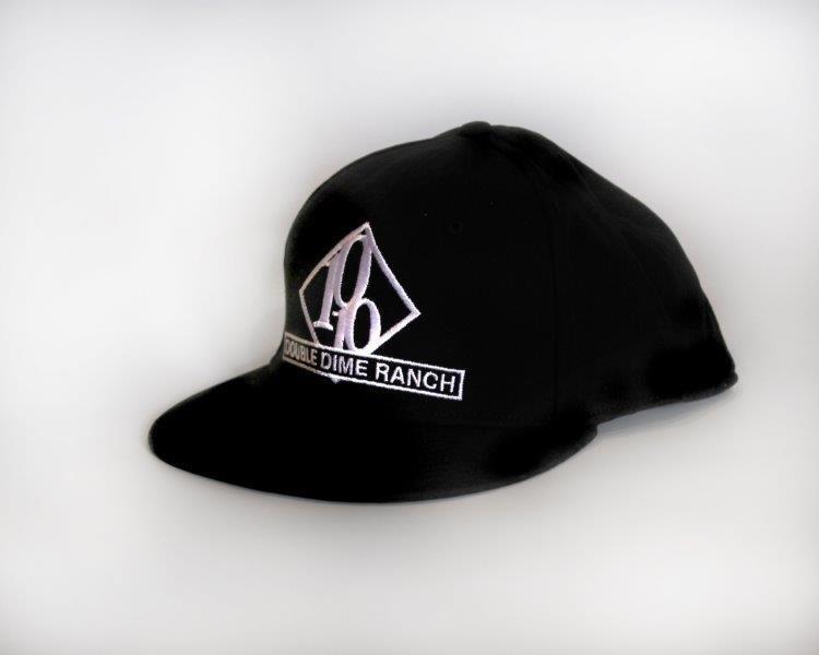Black Double Dime Flatbill Hat
