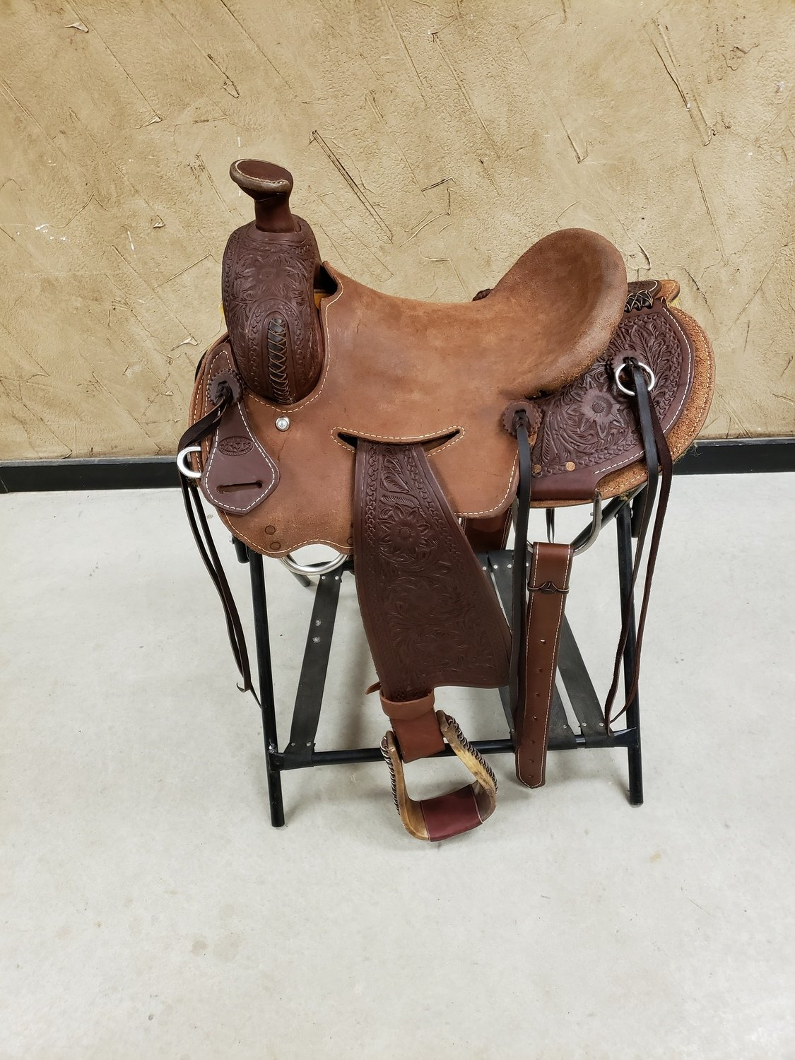 HEART OF TEXAS WILL JAMES STRIP DOWN SEAT RIG