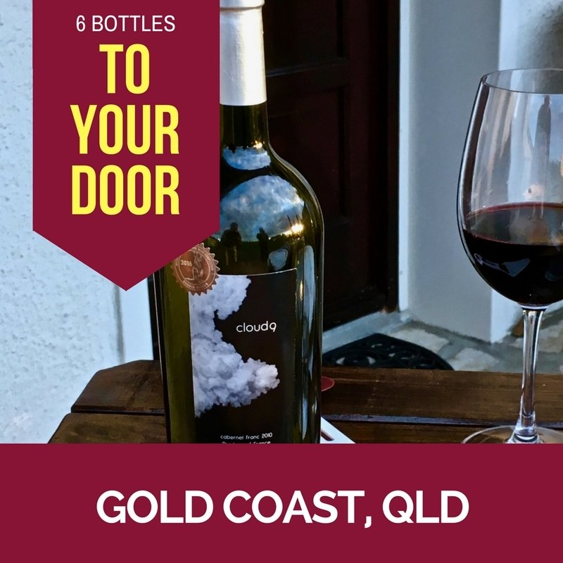 Gold Coast Delivery - Cloud9 2010 Bordeaux Cabernet Franc - Carton (6 bottles) CLOUD9AUSGC
