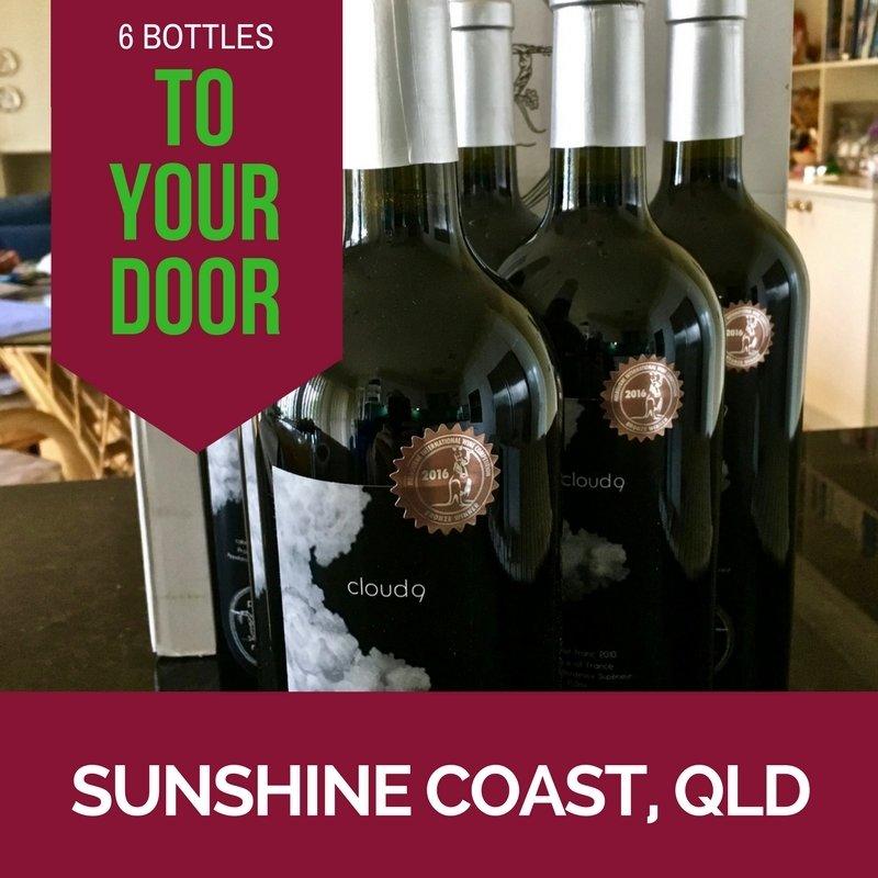 Sunshine Coast Delivery - Cloud9 2010 Bordeaux Cabernet Franc - Carton (6 bottles) CLOUD9AUSSC