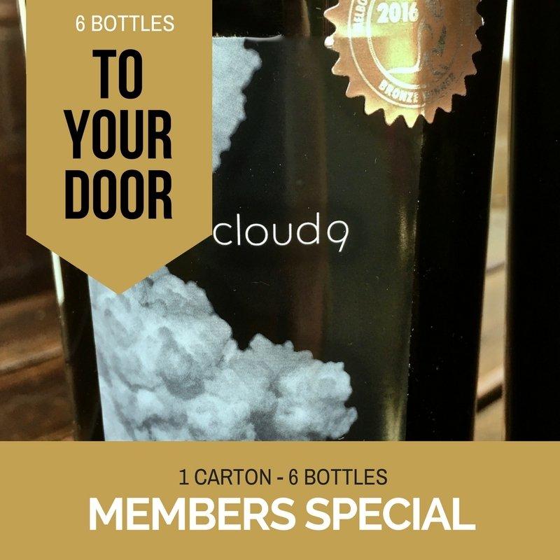 Australia Wide Delivery - 6 Bottles of Cloud9 2010 Bordeaux Cabernet Franc MEM1CARTON