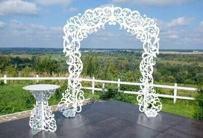 Свадебная арка . №2.