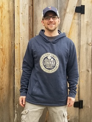Lumnah Acres Unisex Hooded SweatShirt Blue