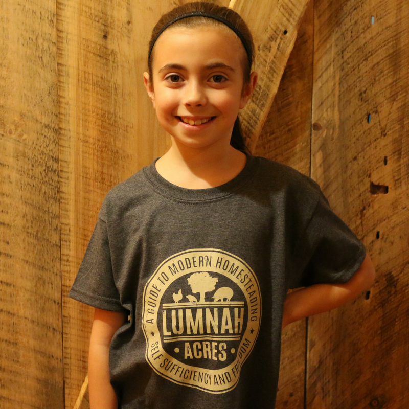 Lumnah Acres Kids T shirt Heather