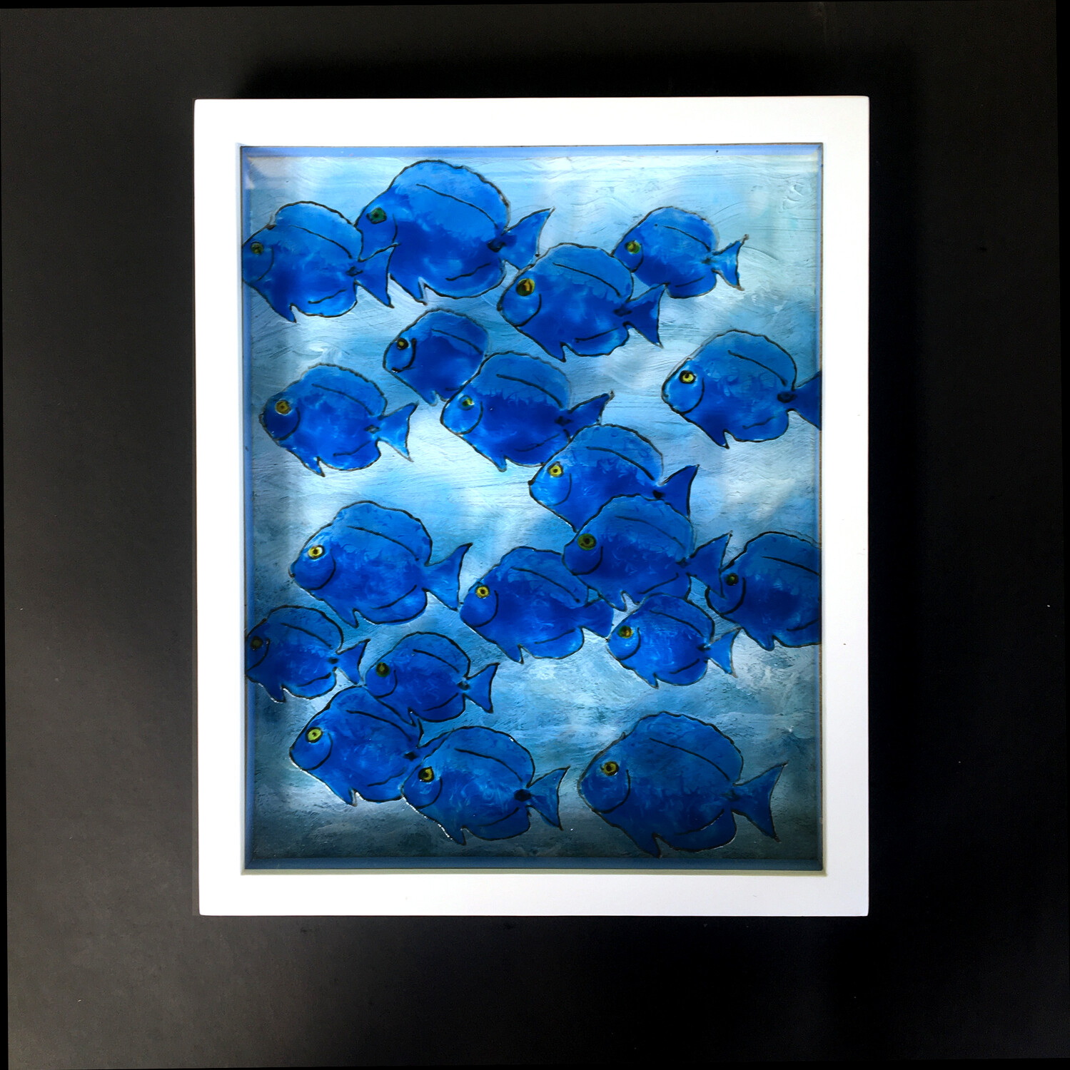 Parade of the Wild Blue Tang