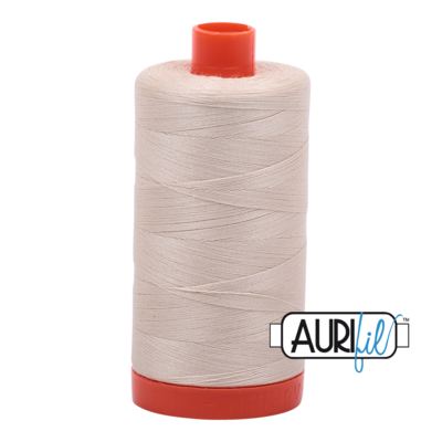 Col. # 2310 - Light Beige - Aurifil 50 weight
