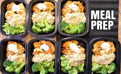 Weekly Option #1: 5 Meal Plan