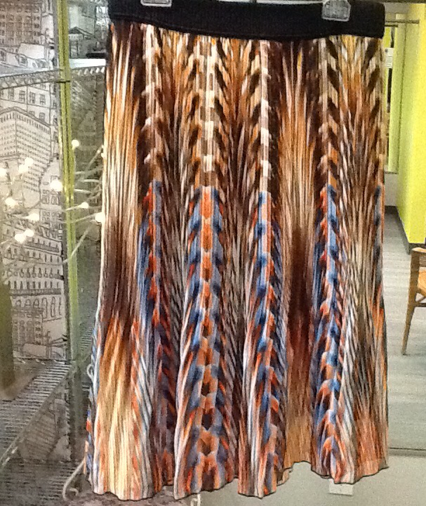 Pleated Studio West Skirt - XL