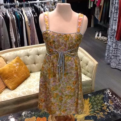 Nanette Lepore Silk Floral Dress - 6