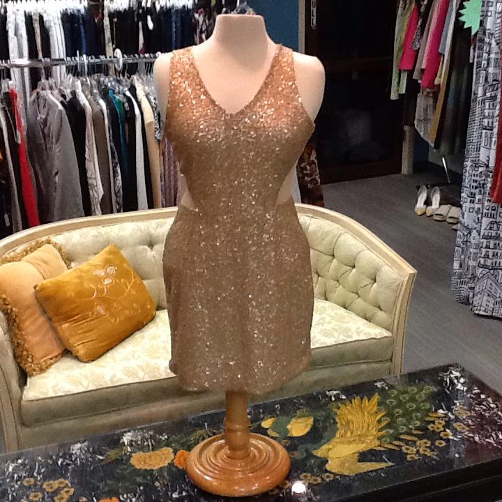 NWT Sequin Gold Mini - M