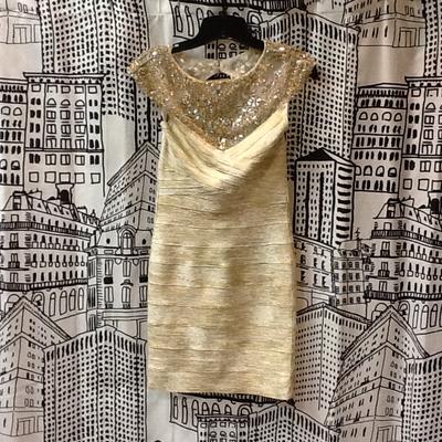 Tony Bowls Jeweled Dress - 4