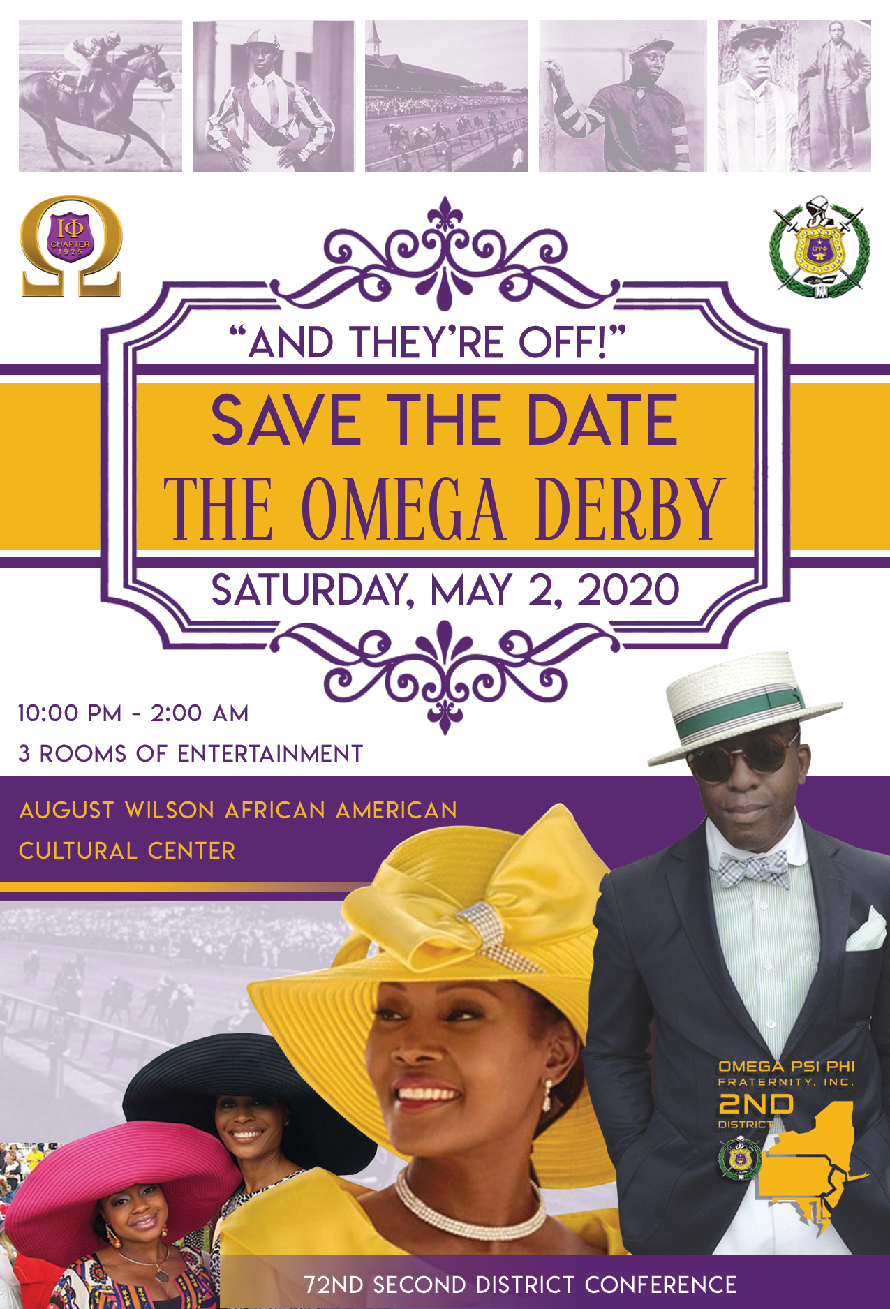 Omega Kentucky Derby Theme Party 00005