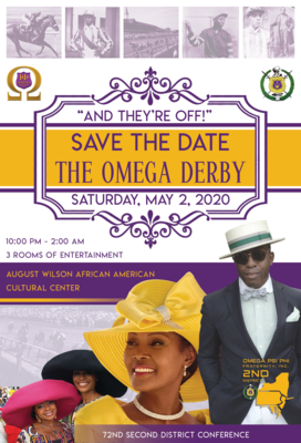 Omega Kentucky Derby Theme Party