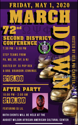 Step Show /After Party Combo