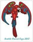 Seattle Parrot Expo 2017 Commemorative Card (vertical) 00006