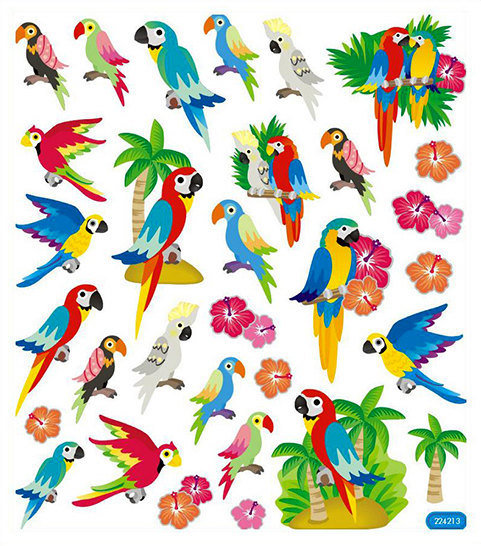 Parrot Stickers 00008