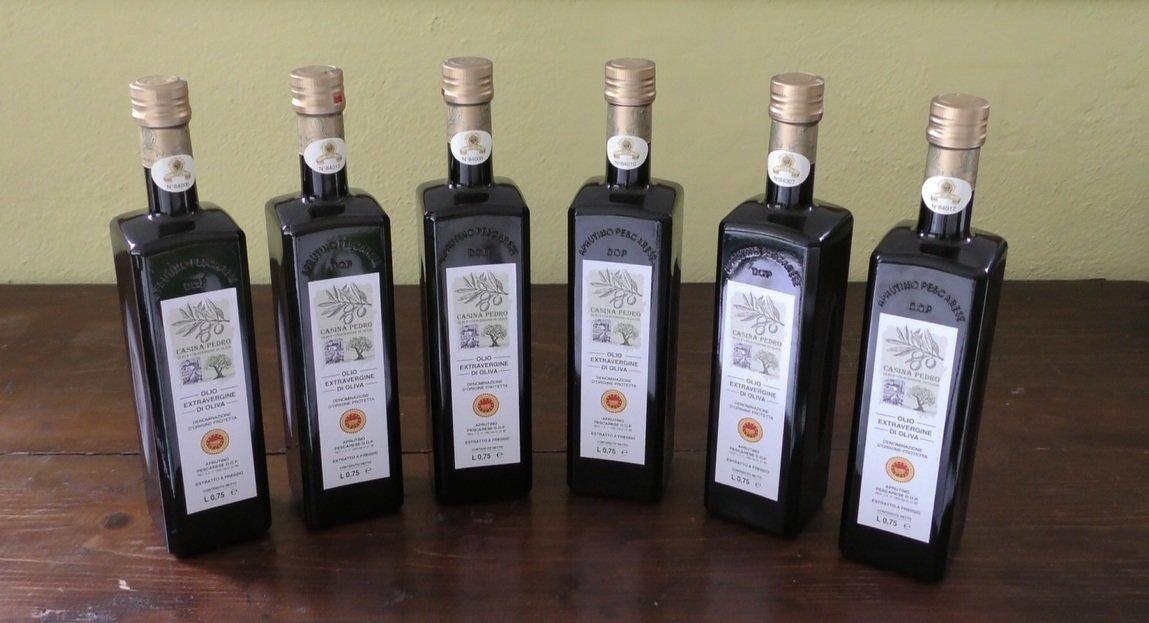 Olio Casina Pedro conf. da 12 Bottiglie da L.075