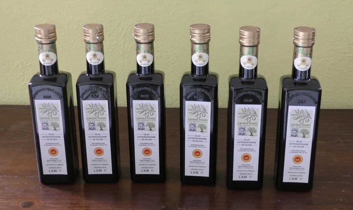 Olio Casina Pedro conf. da 12 Bottiglie da L.050