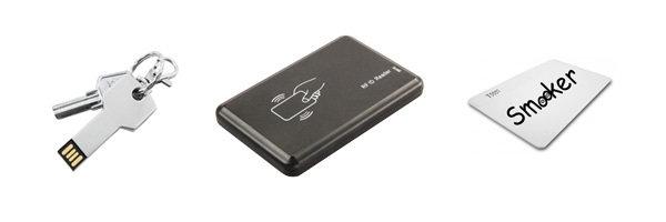 Smooker kit - Software su chiavetta USB per crittografia dati e card RFid