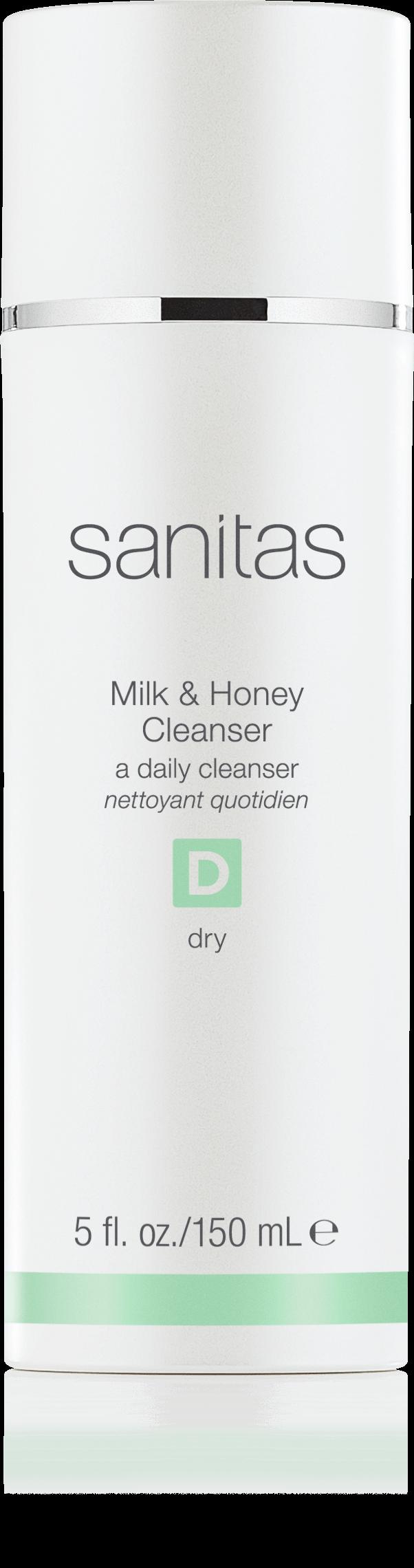 Sanitas Milk & Honey Cleanser 00001