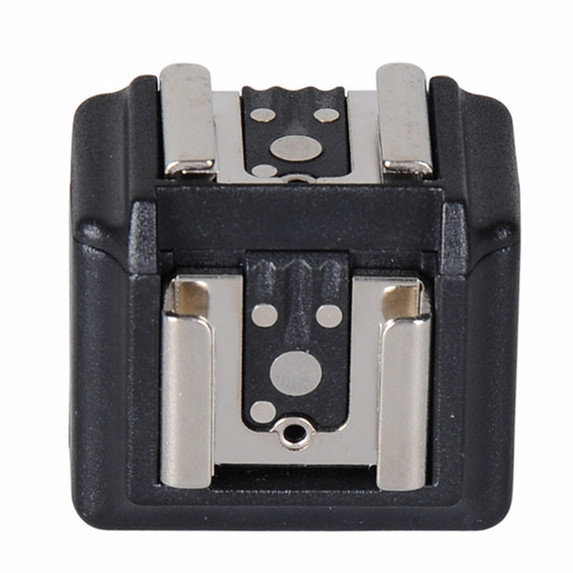 Universal Dual Flash Hot Shoe with 3.5mm Jack Cable
