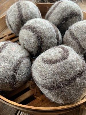 6 Ovella Wool Dryer Balls - Lixo Swirl Collection