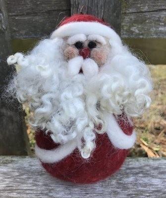 Santa Needle Felting Supply Pack
