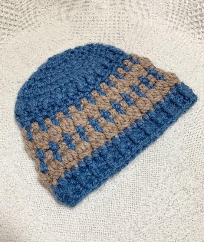 Geometric Snuggle Hat - 6-12 Months