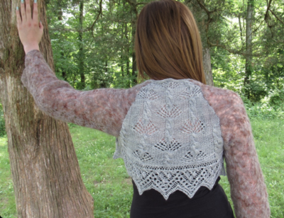 Forest Canopy Shrug Pattern