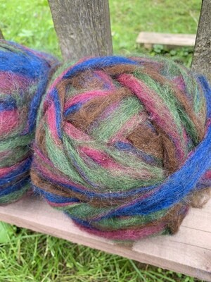 Alpaca Wool Roving - Cavern