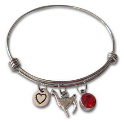 Alpaca Bangle Bracelet