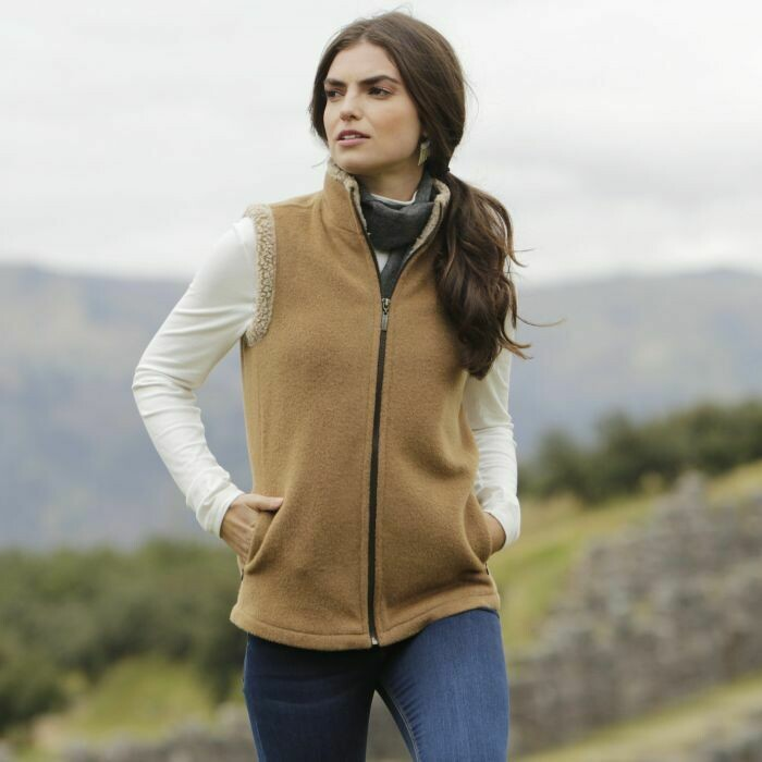 Ladies Alpaca Barn Vest