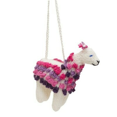 Alpaca - Knitted Ornament