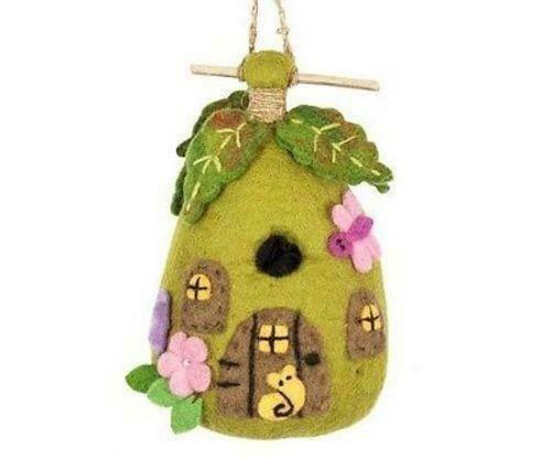 Felt Birdhouse - Fairy House