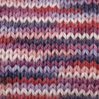 Snuggle Bulky Alpaca Blend Yarn - A Plethora of Pinks