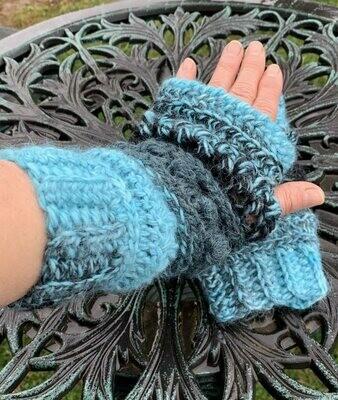 Sampler Wrist Warmers Crochet Class