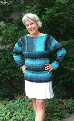 Cross Walk Pullover Pattern