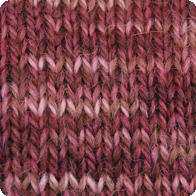 Hand-Dyed Swizzle Alpaca Yarn - Rose