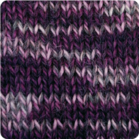 Hand-Dyed Swizzle Alpaca Yarn - Plum Perfection AYC-071125