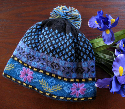 Blue Meadow Lined Hat PL-17442