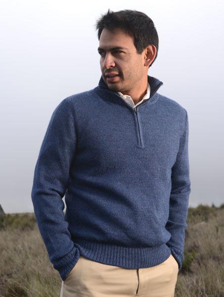Men's Half Zip Sweater