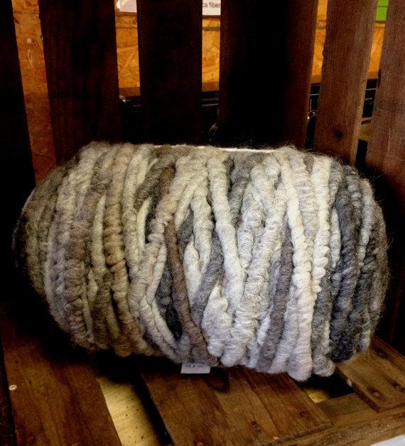 Suri Alpaca Rug Yarn - Dark Multi-Colored