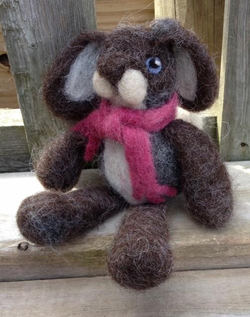 """Little Gray Bunny - """"Alfie"""" 00396"""