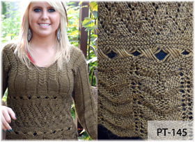 Zodiac Sweater by Beth Lutz