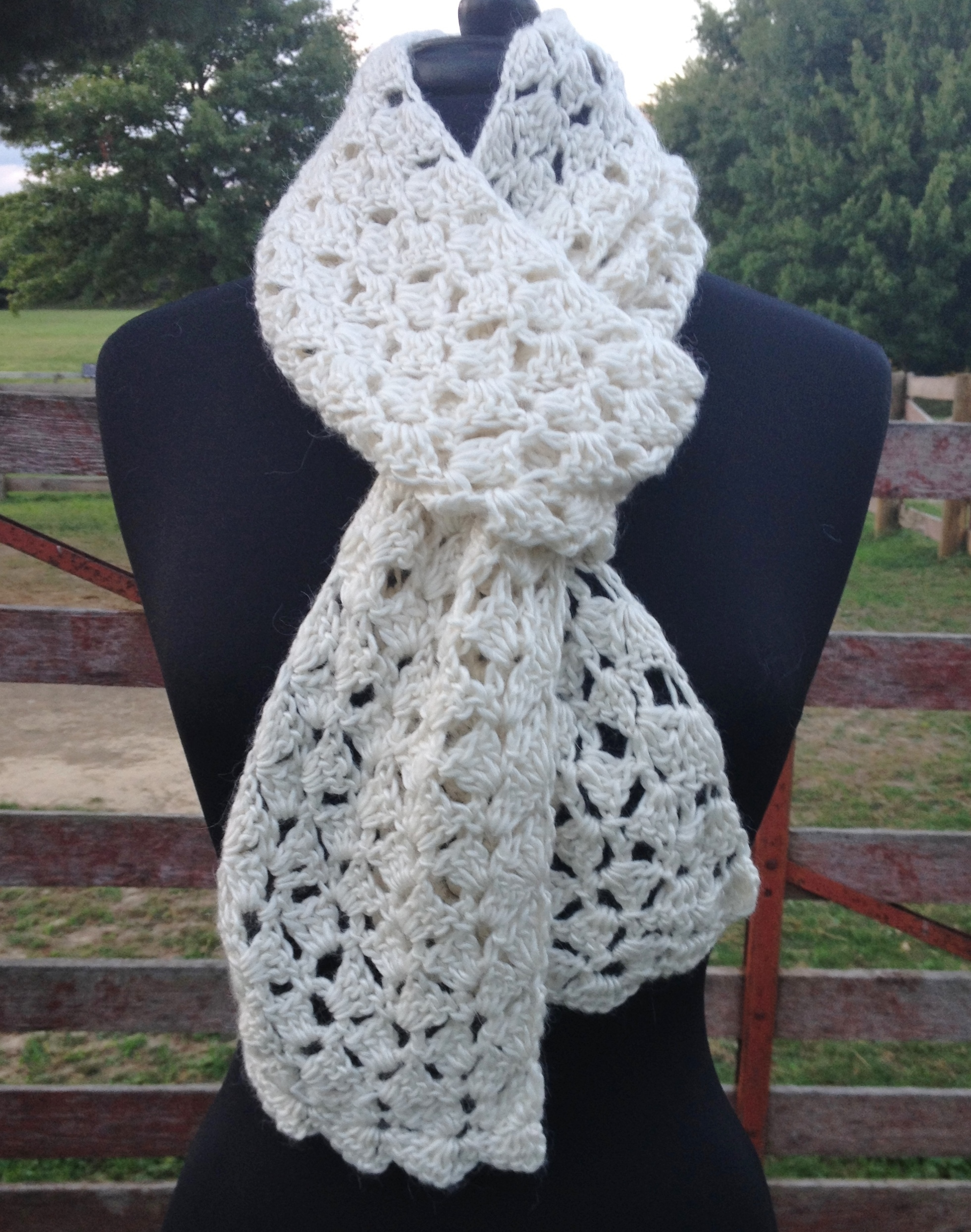 Spring Petals Astral Scarf 17641Wh