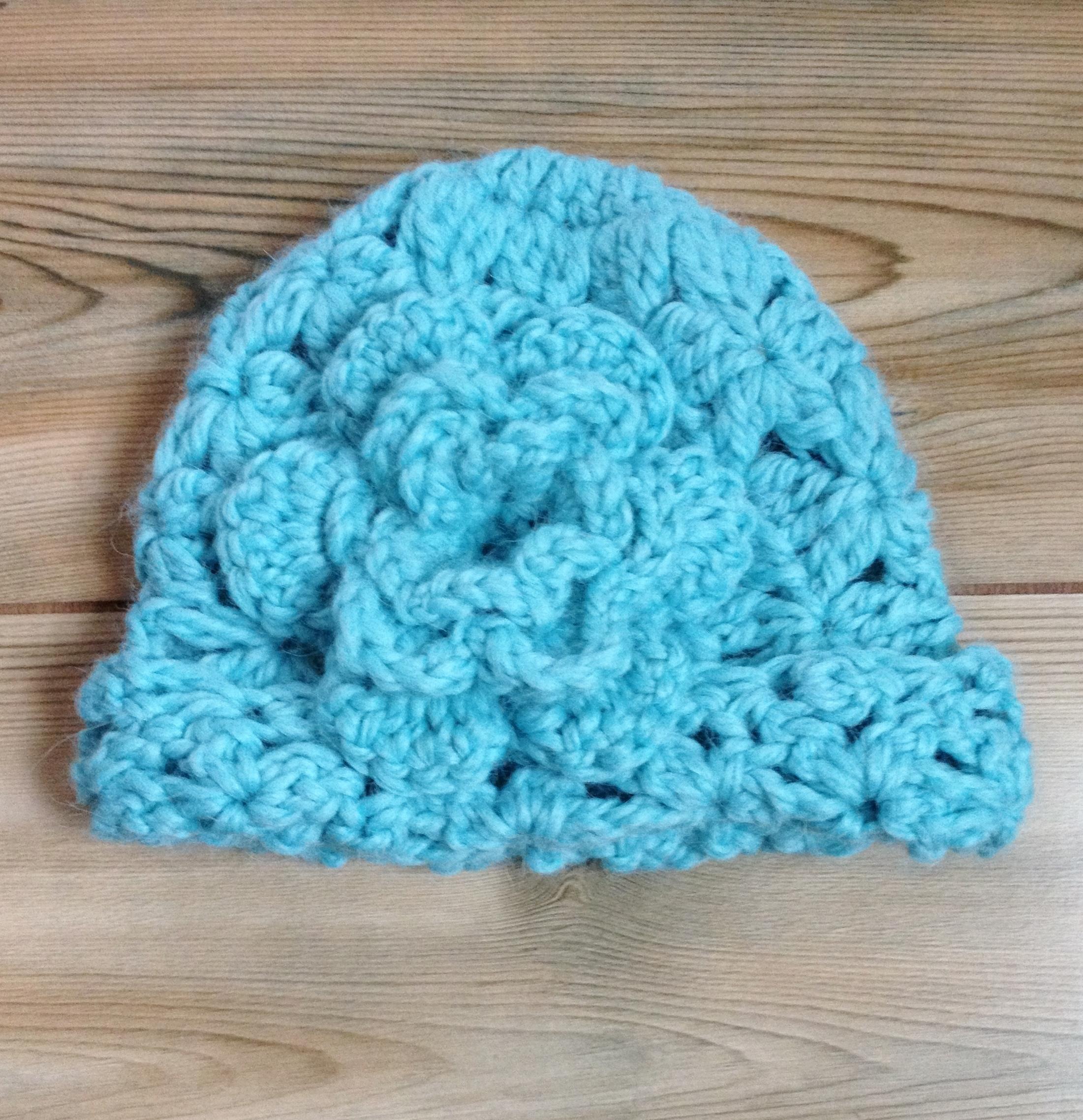 Children's Cloche Hat - 6 to 12 Months 17687