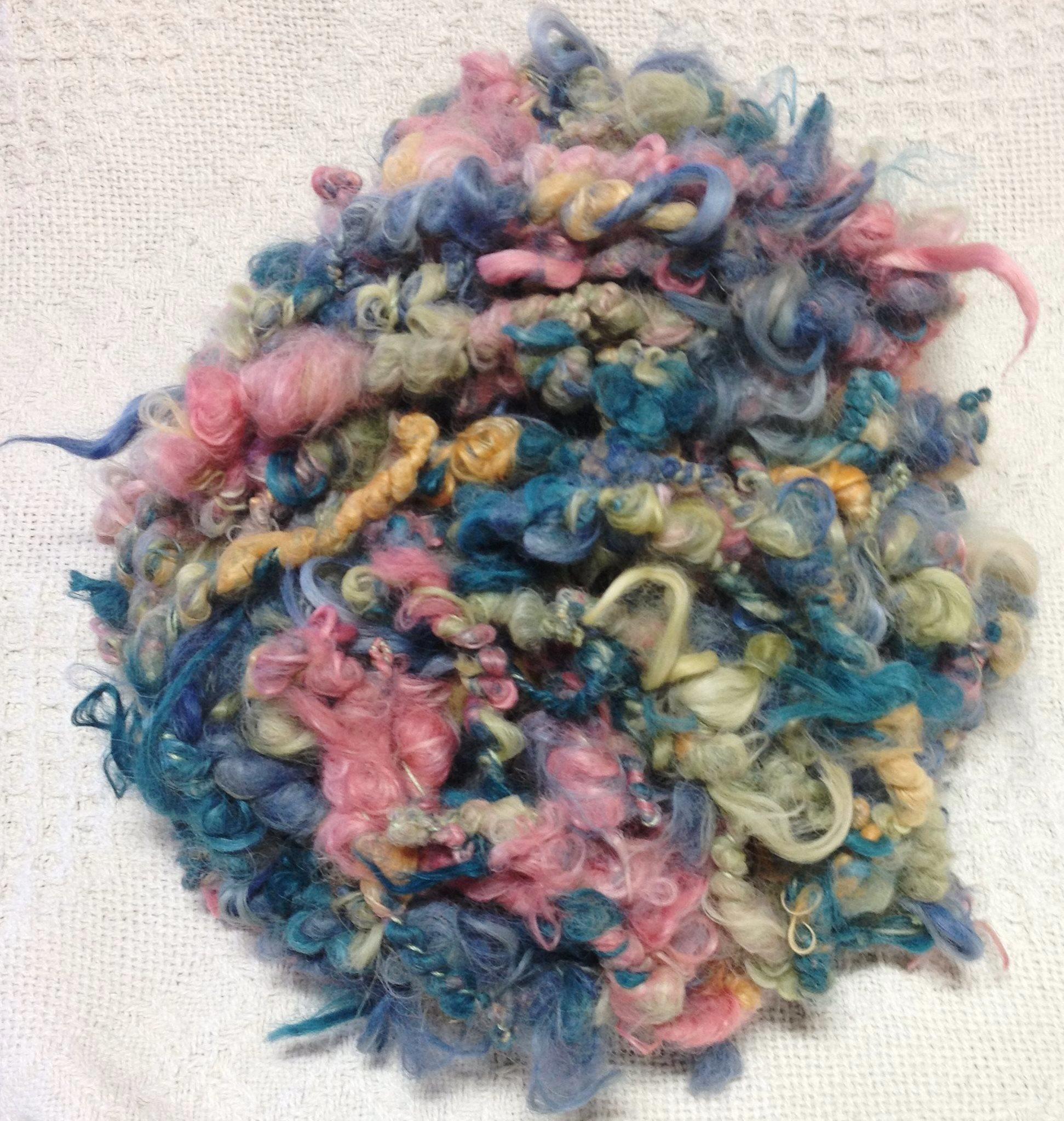 Surt Art Yarn - Citrus, Madder Orange, Cornflower, Lily, Ivy, Peppercorn 17742