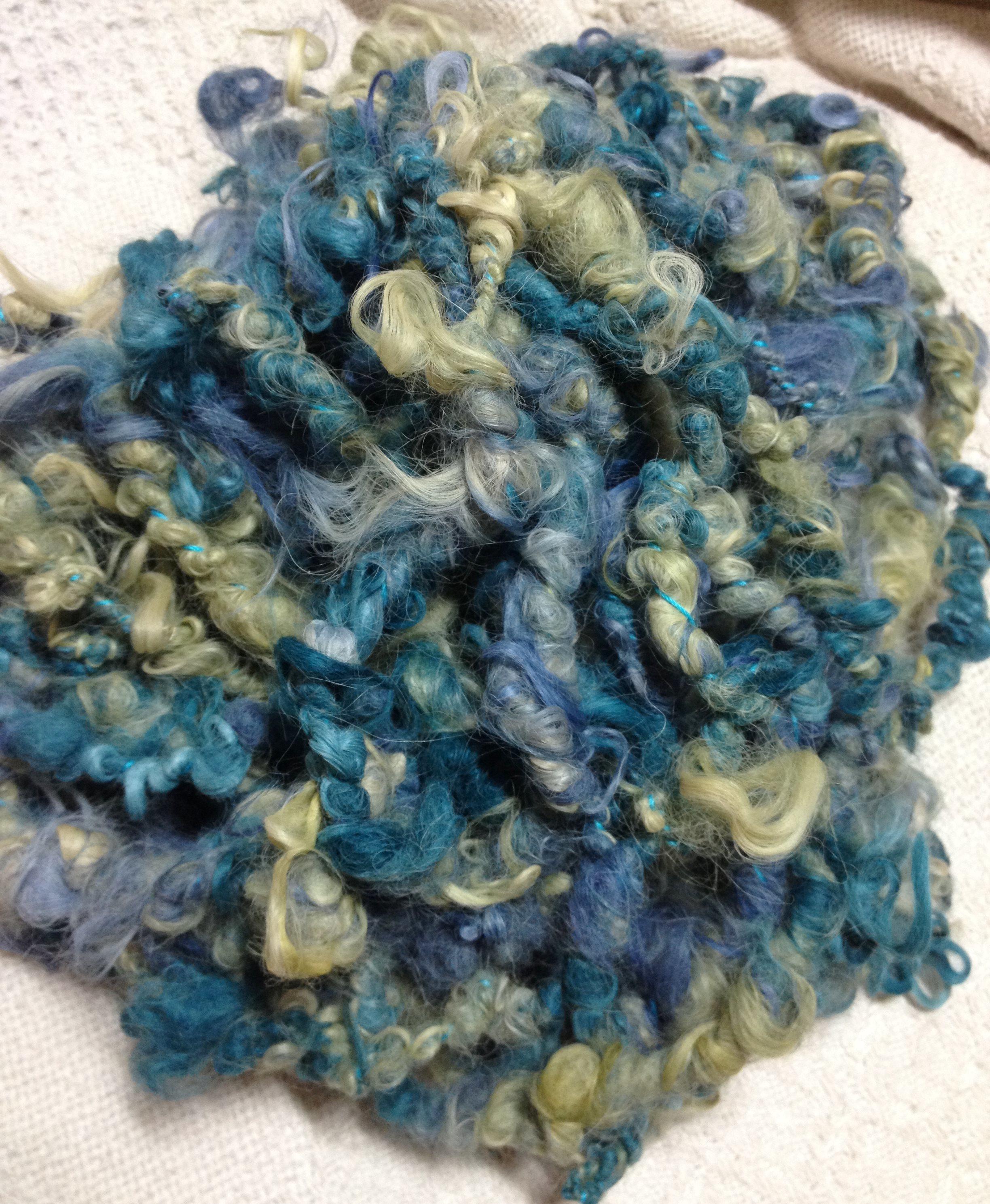 Suri Art Yarn - Cornflower, Lily, Ivy